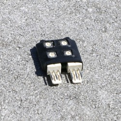 Inclinomètre 2D, réglages de gain et zéro
