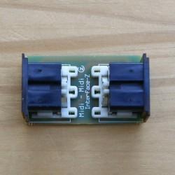 Coupleur Midi-Midi pour connecter 2 cordons Midi