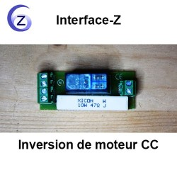 Inversion de rotation de Moteur basse tension CC