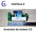 Inversion du sens de Moteur basse tension à courant continu.