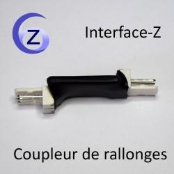 Coupleur pour brancher des rallonges pour capteurs Interface-Z