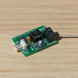 Détecteur capacitif, distance de détection réglable