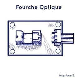 Fourche optique