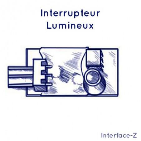 Inter Lume - Lumière réfléchie, capteur de passage ou présence
