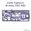16 entrées réseau OSC