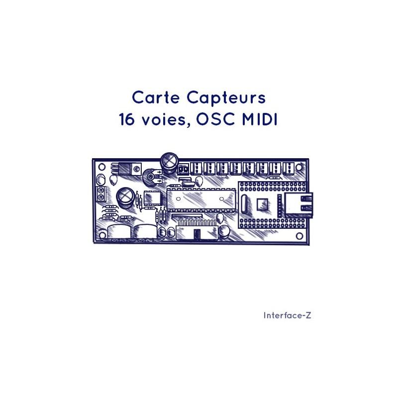 16 entrées OSC