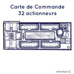 Commande 32 Actions