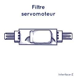 Filtre pour servomoteur
