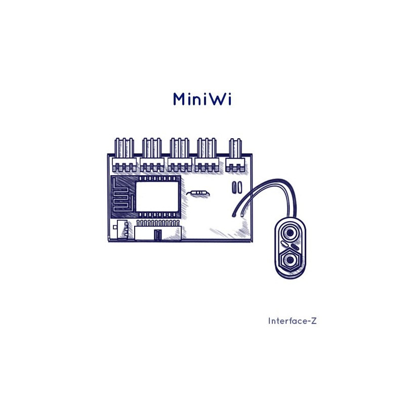 MiniWi, interface sans fil Wi-Fi