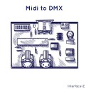 Midi to DMX, convertisseur Interface-Z