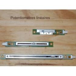 Potentiomètres linéaires, capteurs de position