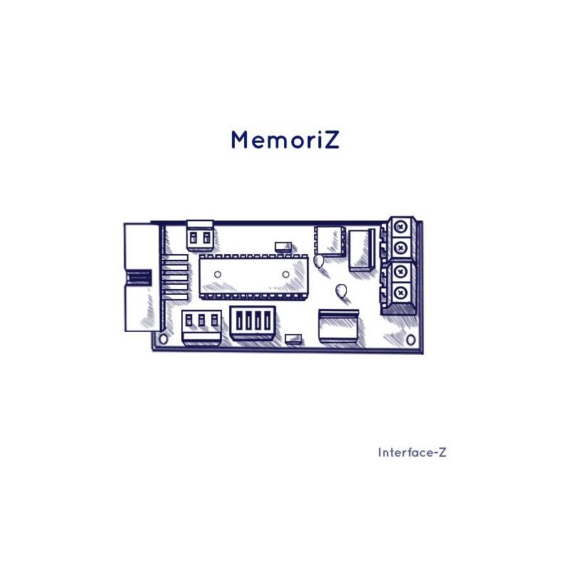 Mémoriz HD - Branchements