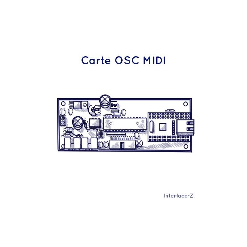 OSC - Midi, conversion de protocoles