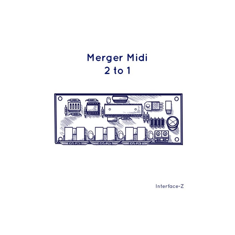 Merger Midi 2 vers 1, aide aux branchements