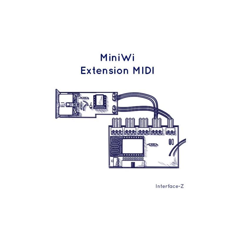 MiniWi et module extension de configuration Midi