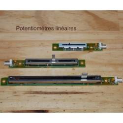 Potentiomètres linéaires, sliders
