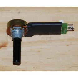 Potentiomètre rotatif pour objets sur un axe