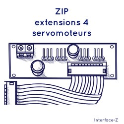 ZIP - Extension 4 Servo