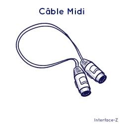 Câble Midi