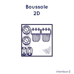 Boussole 2D