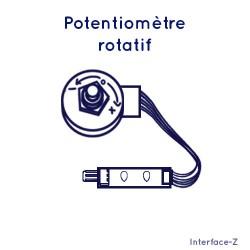 Potentiomètres rotatifs