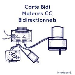 Carte Bidi - Moteurs CC...