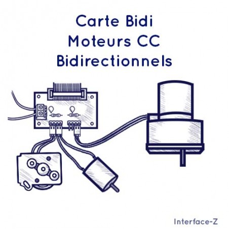 Carte Bidi - Moteurs CC Bidirectionnels
