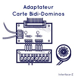 Carte Bidi - Adapteur Dominos