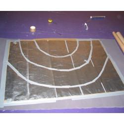 Tapis sensitif - Zones concentriques d'aluminium