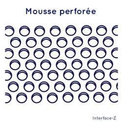 Mousse perforée