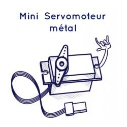 Mini-servo rouages métalliques