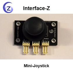 Capteur mini-joystick Interface-Z, 2 axes + bouton