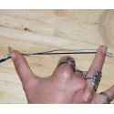 Etirement tenu à 15 cm, capteur tendu