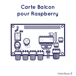 Balcon Raspberry Pi 4 In +...