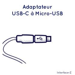 Adaptateur Micro-USB à USB-C