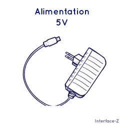 Bloc d'alimentation 5 Volts...