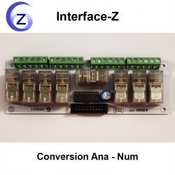 8 Relais 1RT interface-Z : actionneurs de puissance