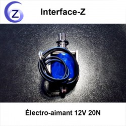 Électro-aimant Interface-Z 20 Newtons 12 Volts