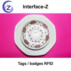 Puce RFID en disque autocollant, pour carte RFID Midi Interface-Z