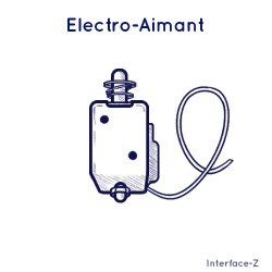 Electro-aimant 12V 20 N