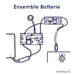 Ensemble Batterie Raspberry Pi