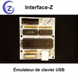 Emulateur clavier USB 64 touches Interface-Z