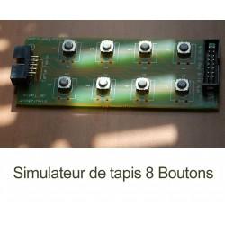 8 Boutons - Simulateur de tapis