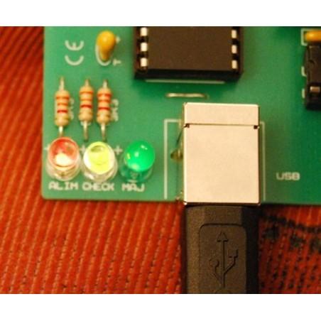 Emulateur de clavier USB - LED allumée