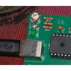 Emulateur de clavier USB - LED