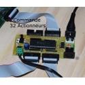 Carte de Commande 32 Actionneurs Midi.