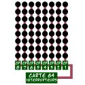 Carte 64 interrupteurs