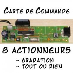 Commande 8 Actionneurs