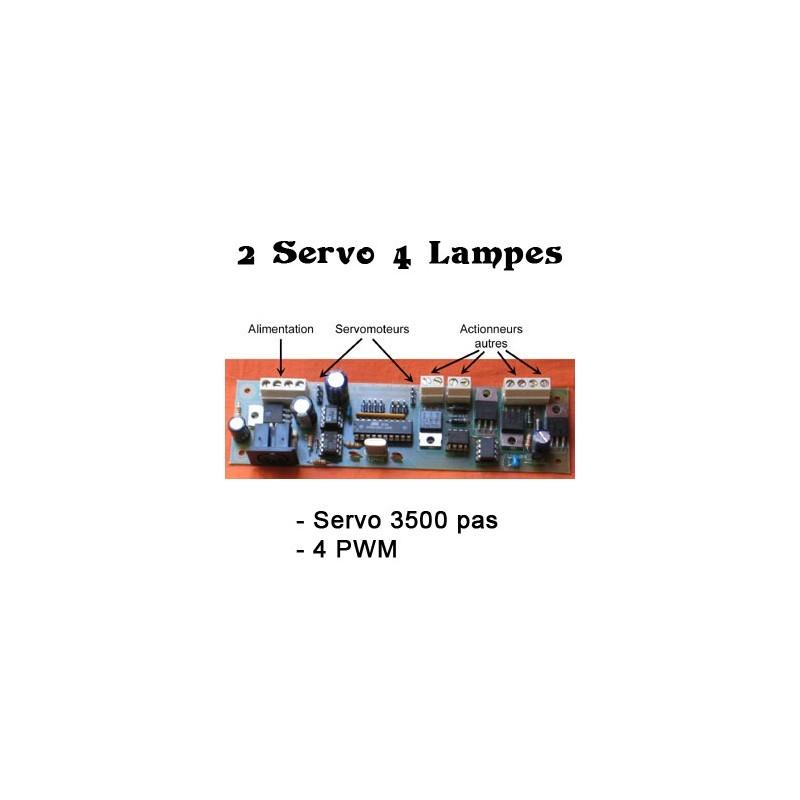 2 Servos / 4 PWM