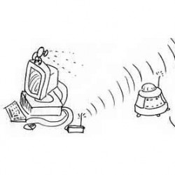 Midi HF 433 MHz, transmission sans fil